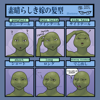 Hairstyle Meme - Ando Rei by Pimpypants