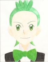Sanyo Gym Leader Cilan by SubwaymasterMegumi