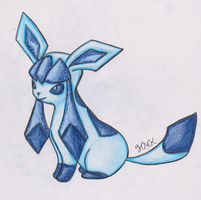 Glaceon (REQUEST) by Shabou