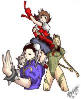 street fighter by AYANAMAY