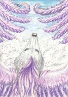 Holy Fox ACEO by Rianne2k8