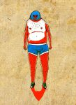 Mexican wrestler by logaan