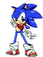 Sonic The Hedgehog - Redesign. by jacobmester