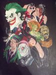BATMAN AND VILLAINS PROJECT WIP5 by billywallwork525