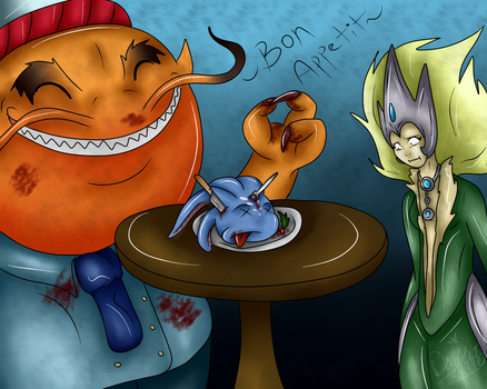 A Fishy Meal by CaptainDani