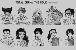 TDTM Shocked Poses by Marcusqwj