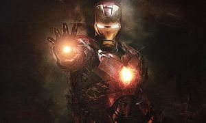 Stark Industries' Iron Man by Marcos-Inu