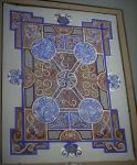 Illuminated Carpet Page 'Gaudy' by one-rook