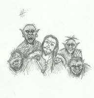 Orcs and Goblin Men by Illvetti