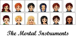 The Mortal Instruments by Spelledheart