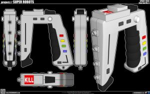 Space 1999 Stun Gun Mk.II by cosedimarco