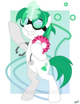 Mad Little Pony - Dr. Insano by ImmortalTanuki