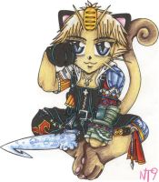 Tidus Meowth by Neotokyo9