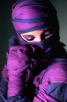Purple Mummy Girl by joepix