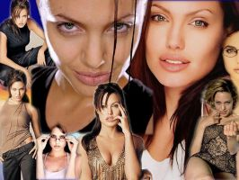 another angelina jolie collage by pimpinflebag
