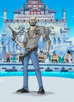 Me in One Piece, Marineford by tomastocornal