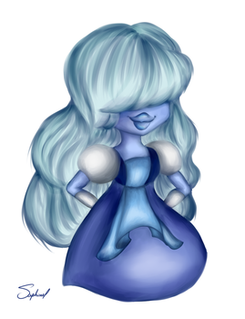 Steven Universe-Sapphire by Saphinel