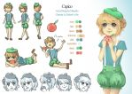 C: Capico Character Sheet by MissPinks