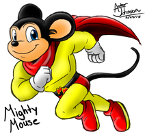 Mighty Mouse by KohakuKun19