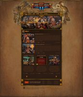 Torchlight 2 Fansite | Webdesign by LoomarEvO