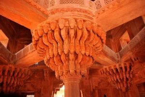 Fatehpur Sikri interior 1 by wildplaces