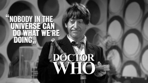 Doctor Who Troughton Wallpaper by tardisplus