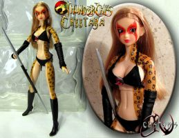 Thundercats Cheetara OOAK Custom Figure JVCustoms by jvcustoms