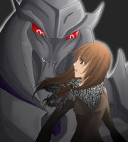 I and Megatron by Charies2011