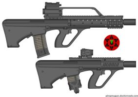T:A:C arms steyr AUG civilian by bobafettdk