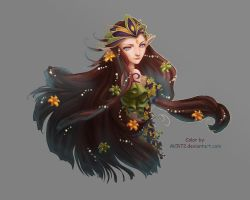 Faery Queen - Colored by MCR72