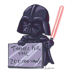 Darth Vader chibi 200k by Evolvana