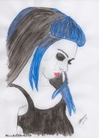 Blue (Water Colour) by AliceXofXdarkland