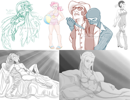 SFW After Dark Requests Compilation 1 by TariToons