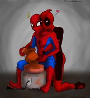 Ghost Spideypool by Chitanzer
