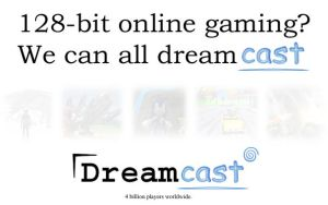 Dreamcast Slogan and Logo by TheStiv