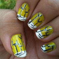 Origin of Symmetry album nails by theworldofmycreation