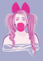 Bubblegum Girl by PKLdesigner