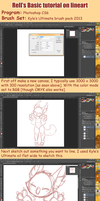 Rell's lineart tutorial [2015] by R3llO
