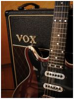 Red Special and AC30 No. 1 by Fox82