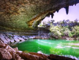 Hamilton Pool by AndrewCarrell1969