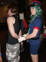 Got caught again by KitoCosplay