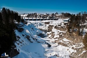 Grand Falls Dam in the winter (2) by imonline