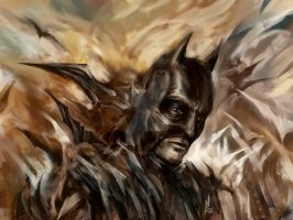 Dark Knight Rises by digitalartaficianado