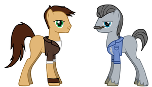 Uncharted ponies by eramthgin-1027501