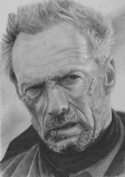 Clint Eastwood - Unforgiven by marcusfearnley