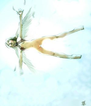 Falling angels by Teruchan