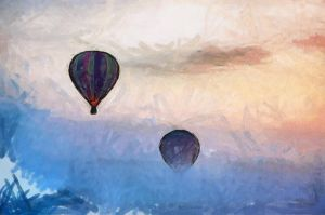Hot Air Balloons by Jessica-Art