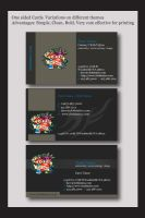 Cloth Tattoo business cards 2 by DonelleJenae