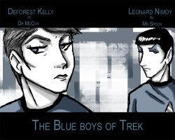 The Blue boys of Trek by Idigoddpairings