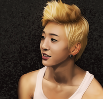 B.A.P: Yongguk by Quitoxica